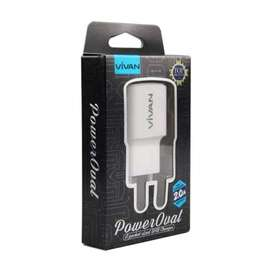Charger vivan power oval 2A by sam central Powerbank