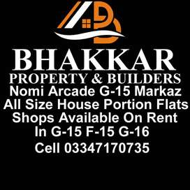 Flat For Sale In G-15 Markaz