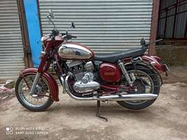 Jawa maroon crome abs 2019 20 1st Owner 5year Insurance 240000 showrom