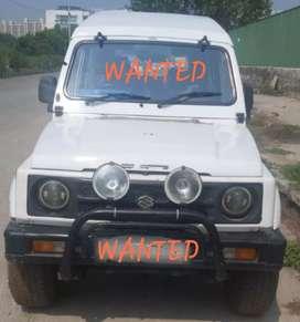 WANTED maruti gypsy diesel