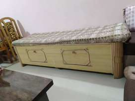 Box type bed with storage