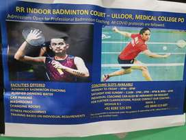 Personal badminton coaching in kochulloor tvpm