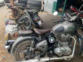 Vintage Seat for Royal Enfield