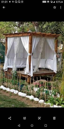 Pargola or gazebo for garden