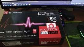 VGA Sapphire Pulse AMD RX 580 8GB