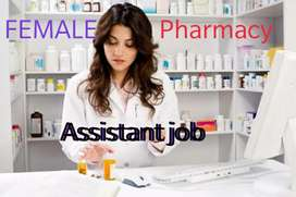 Experienced Assistant pharmacist only female