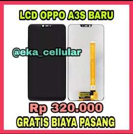 Lcd Oppo A3s Murah,, Bergaransi,, gratis pasang