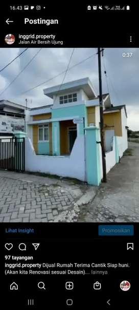 Rumah minimalis Dan modern Type 60 lokasi strategis harga 375 juta