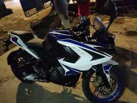 BAJAJ PULSAR RS 200 ABS (RACING BLUE)