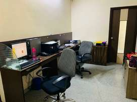 800 sft fully furnished office for rent in Somajiguda