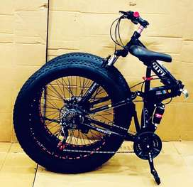 NEW IMPORTED 21 GEARS FAT FOLDABLE CYCLE