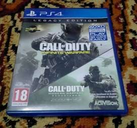 CALL OF DUTY INFINITE WARFARE CD FOR PS4