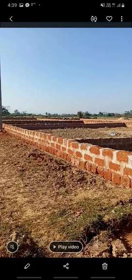 Residential Boundary plot sell at Hansapal, BBSR