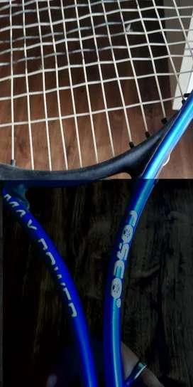 Cosco max power lawn tennis racket