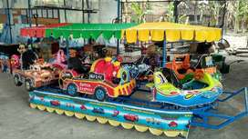 RST kereta odong mobil fiber mini coaster IIW