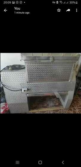 Mesin aduk giling adonan tepung roti bakpau kapasitas 50kg