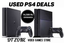 USED PS4 DEALS, ps4 500gb, ps4 1tb, ps4 slim model, ps4 pro - DT zone