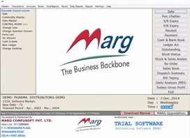 Full knowledge of marg erp 9