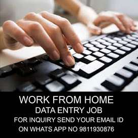 simple home based job and earn weekly