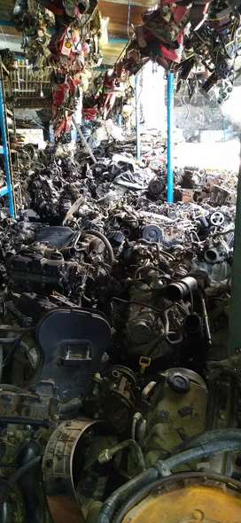 Engine and gear box spares