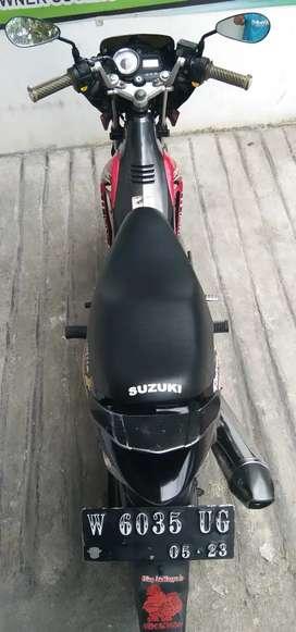 SUZUKI SATRIA FU 150 TH 2013 PLAT W