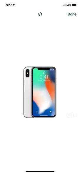 Iphone x 64gb warrant upto april serious buyers contact me
