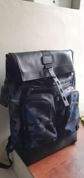 Jual tas baru TUMI Seri London Roll Top Backpack original