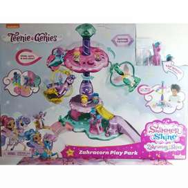 Fisher Price Nickelodeon Shimmer & Shine Teenie Genies Zahramay Skies