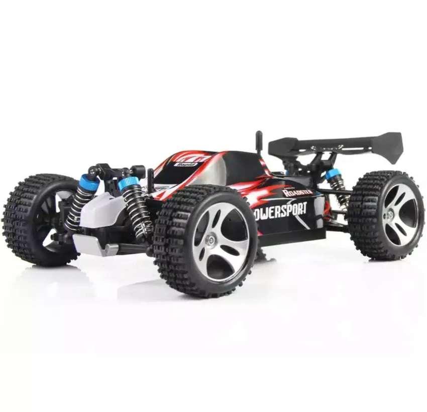RC WL Toys Vortex A959 1:18 4WD 50km/jam Mobil Remote Wltoys 0