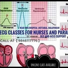 ecg class for medical students , paramedicals and nurses
