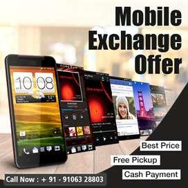 Use old Tablet Old mobile exchange offer