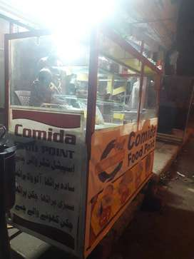 burger shuwarma and food counter