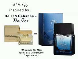 Parfum Luxury  pria FM 195 by FMsama dengan DNG The One For Men