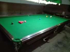 Snooker table size 4 x 8