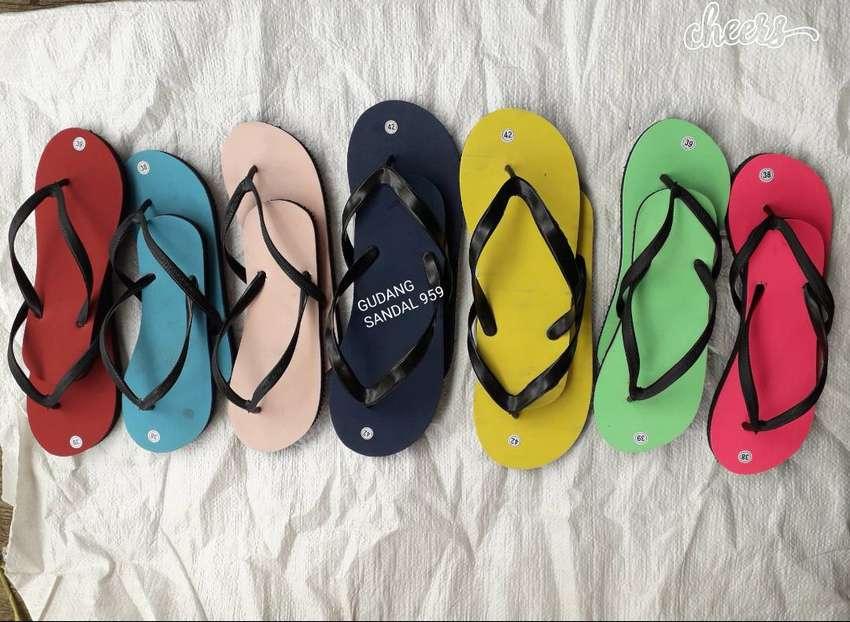 Sandal Polos Wanita I Sandal Murah I Sandal Grosir 0