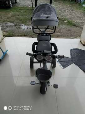 Stroller sepeda family bisa diputar 2 arah