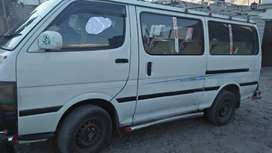 Van for sale only people in Gilgit baltistan can contact contact