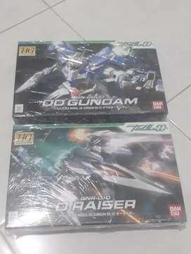 HG OO Gundam + O Raiser