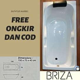 Bathtub Marbel BRIZA Free Ongkir COD Jabodetabek