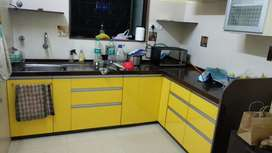Nice & New 3 Bhk semi furnished High Rise flat near Sadhuvaswani Road