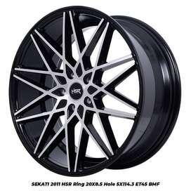 jual velg crv model>SEKATI 2011 HSR R20X85 H5X114,3 ET45 BMF