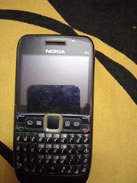 Nokia e3 mobile phone