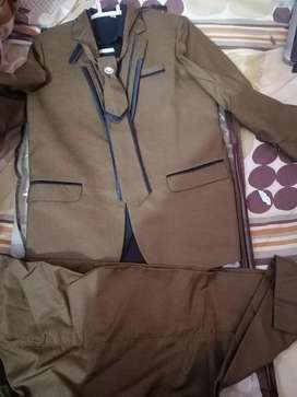 Three peice pant coat with shirt