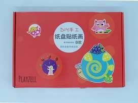Mainan Edukasi Prakarya Anak DIY PIRING SET
