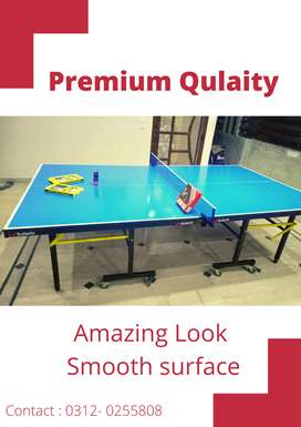 Table tennis | Premium Quality | Easy and Portable  | Manufacturer