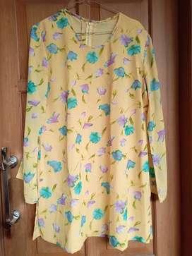 Blouse Bunga Kuning