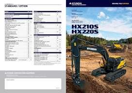 Hyundai Excavator HX210S 21 ton