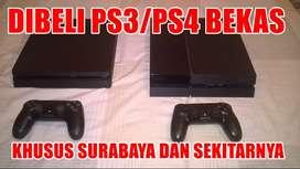 LANGSUNG DIBAYAR! KHUSUS PS4 PS3 2ND BEKAS NORMAL PAKAI REK