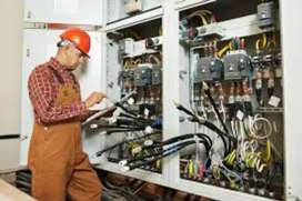 Electrician and  DJ Operator Maintenance job In Mall
