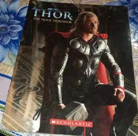 THOR  , the movie storybook